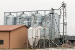 Силосы для хранения зерновых и комбикорма MICHAŁ