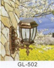 Лампа на солнечной батарее для сада. LED. Модель