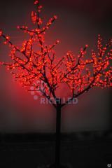 Tree the light-emitting diode, shining tree, a