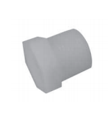 Six-sided cap for a drainage