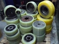 Полиуретановые колеса, ролики, валы