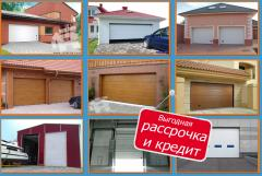 Garage gate of Almaty, automatic equipment for