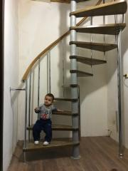 "Turnkey"" metal spiral staircases"