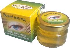 Мёд для глаз с маточным молочном, ясный взгляд 40