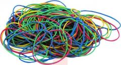 Rubber bands of 500 g yellow