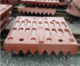 Плиты дробящие для щековой дробилки СМД-109