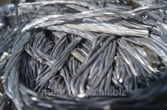 Reception of aluminum scrap metal