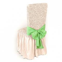 Бант на стул Микрофибра Зеленое яблоко
