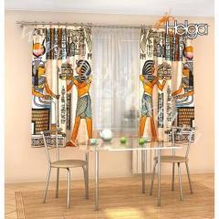 Фотошторы Египетский папирус 2272-k