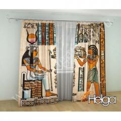 Фотошторы Египетский папирус 2272-sh
