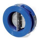 The backpressure valve dvukhstvochaty interflange