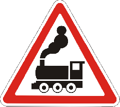 Signs are railway
