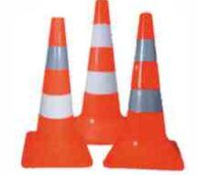 Cones are road