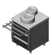 Dispenser for heating of plates 3DP2
