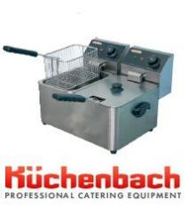EF-4+4L deep fryer