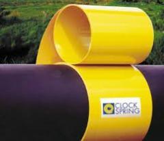 Манжеты Clock Spring для ремонта нефтегазовых