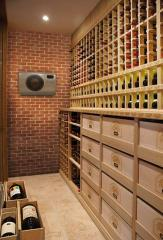 The conditioner for wine rooms and cellars