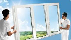Energy saving plastic windows in Almaty