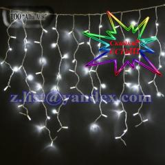 Garlands are light-emitting diode, New Year's,