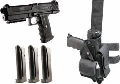The paintball Gun Tippmann TiPX Deluxe Kit - Black