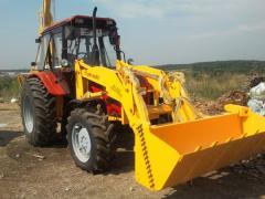 EP-F-P excavator loader (Belarus-92P)
