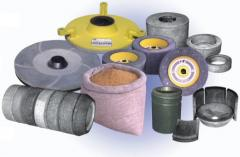 Tool abrasive of different function