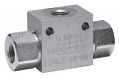 Backpressure valve: VU\SF valve (ILI valves)