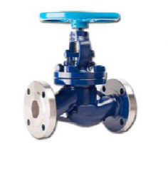 The valve - the gate locking flange steel J41H-25