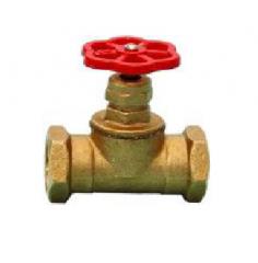 Клапан запорный латунный муфтовый C-301 (Ру-16) Ду