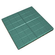 "Safety rubber tile ""Grid"" of"