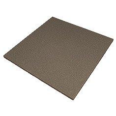 Safety rubber tile of 500х500х10 mm