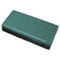 "Safety rubber tile ""Brick"" of 40"