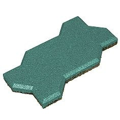 Safety rubber stone blocks