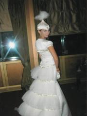 Свадебные национальные платья купить в Казахстане,