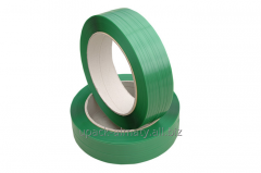 The tape is packing green, PET (PET)