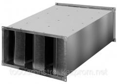 Шумоглушитель для прямоугольного воздуховода
