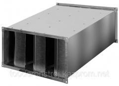 Noise suppressor rectangular lamellar GP 8-2