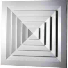 Diffuser ceiling square RAD 600*600