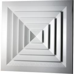Diffuser ceiling square SAD 150*150