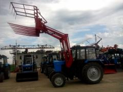 Loader hinged frontal PF-1 in a set a ladle -