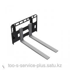Pitchfork for pallets, length is 1200 mm