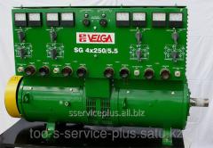 Much welding SG-2x250 generators on point duty