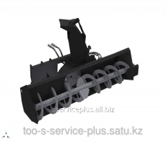 The snowplow is frezernorotorny, width is 1500 mm,