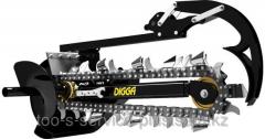 Траншеекопатель Digga Bigfoot XD-1500