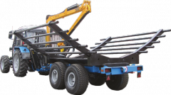 Equipment of the semi-trailer forest BELARUS OPL