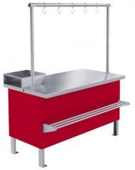 Counter refrigerating medium temperature Meat