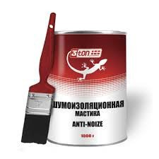 Шумоизоляционная мастика 1000г 3TON TМ-911
