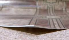 Linoleum on the made foam basis in assortmen