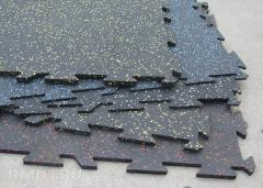 Linoleum rubber in assortmen