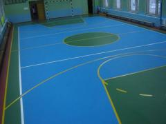 Coverings for gyms